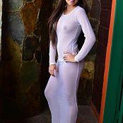 Silver Pearls Janie White Dress Set 001 012