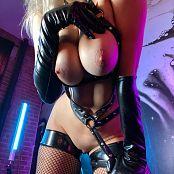 Darshelle Stevens OnlyFans Liquid Leather 070