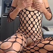 Sofi Novak OnlyFans Black Fishnet Dress Video 271120 mp4