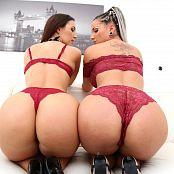 Kristy Black Jolee Love Double Anal Gangbang SZ2517 014