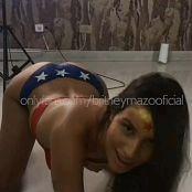 Britney Mazo OnlyFans Wonder Woman Video 081220 mp4