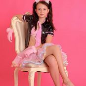 Silver Stars Taira Pink Dress Set 001 021