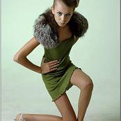 TeenModelingTV Masha Green Dress 011