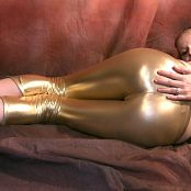 Kitty Kat Golden Pants Video 141220 wmv