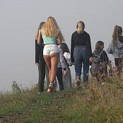 PilGrimGirl Fog In Mountains 4K UHD Video
