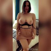 Bryci Lingerie Show Off Video 271220 mp4