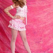 Silver Stars Tina Pink Dress Set 001 010