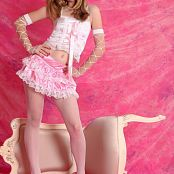 Silver Stars Tina Pink Dress Set 001 112