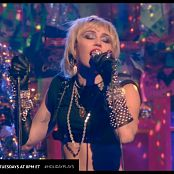 Miley Cyrus Midnight Sky Live Amazon Music Holiday Plays HD Video