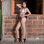 Dulce Garcia Maid Costume TCG Set 016 008