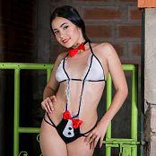 Dulce Garcia Maid Costume TCG Picture Set 016