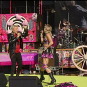 Miley Cyrus and Billy Idol Night Crawling Super Bowl Pre Show Performance Video 080221 ts
