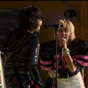Miley Cyrus and Joan Jett Bad Karma Super Bowl Pre Show Performance Video 080221 ts