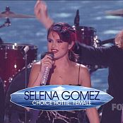 Selena Gomez The Scene Live Teen CHoice Awards 2011 HD Video