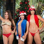 Dayana Medina Susana Medina Sofia Zapata Christmas Tree TCG Bonus Level 3 Set 013 tcg bonuslevel 03 013 12