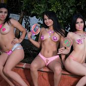 Emily Reyes Thaliana Bermudez Veronica Perez Lollipop TCG Bonus Level 3 Set 011 tcg bonuslevel 03 011 57