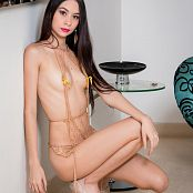 Ximena Gomez Chain Micro Dress TCG Bonus Level 3 Picture Set 010