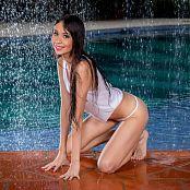 Ximena Gomez White Thong TCG Bonus Level 2 Set 009 tcg bonuslevel 02 009 11