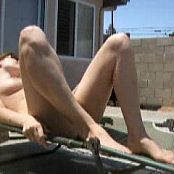 sexy babe stripping on patio 2 200321 flv