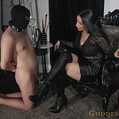 Alexandra Snow New Slave Boot Worship Video 210321 mp4