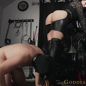 Alexandra Snow New Slave Boot Worship HD Video