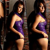 Eva Angelina Latex Wrapped 4K UHD Wallpaper