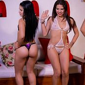 Clarina Ospina Alexa Lopera & Kim Martinez Group 028 TCG Picture Set 028