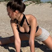 Cinderella Story Juliet Summer Warm Morning On The Beach Video 004 030521 mp4