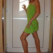 CrisTeen Green Dress Set 001 007