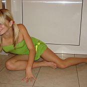 CrisTeen Green Dress Set 001 030