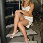 CristTeen White Mini Skirt Set 002 023