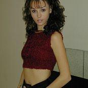Jennifer Heart Maroon Top dscn0046