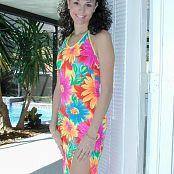 Jennifer Heart Pool Colorful Dress dscn0102