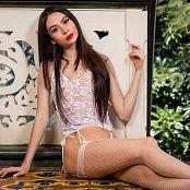 Ximena Gomez White Lingerie TCG Picture Set 031