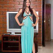 Poli Molina Turquoise Dress TCG Set 024 001