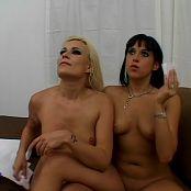 Cindy Crawford & Dasani Lezian Butt Licking Anal Whores 1 DVDR Video