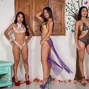 Thaliana Bermudez Pamela Martinez and Poli Molina Group 029 TCG Set 029 008