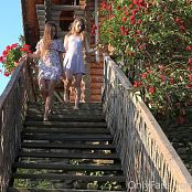 Cinderella Story Juliet Summer Dancing On The Stairs 006