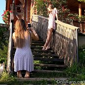 Cinderella Story Juliet Summer Dancing On The Stairs Picture Set & HD Video 002