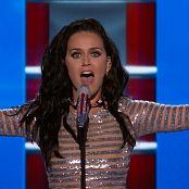Katy Perry Medley Live DNC 2016 HD Video