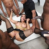 Jolee Love Interracial Double Anal Gangbang and Piss Drink GIO1910 059
