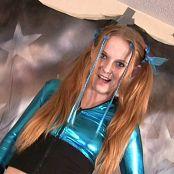 Kitty Kat Sexy Light Blue Shiny Tease Video 070921 wmv
