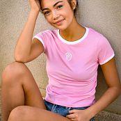 Alana Kern Pink Sweet Power Tee 019