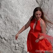 Cinderella Story Summer Walking The White Rocks Picture Set & HD Video