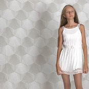 Brima Abbey White Dress Video 130520 mp4