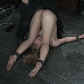 Ami Emerson Stapled To The Floor Forced To Cum BDSM HD Video