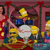 Katy Perry In Skin Tight Latex Dress Simpsons HD Video