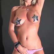 Nikki Sims Stripping With Pasties HD Video