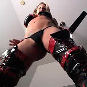 Nikki Sims Sexy Epic Red And Black Latex Outfit Striptease Camshow Video