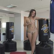 Young Babe Emily Gets Naked In The MMA Gym HD Video